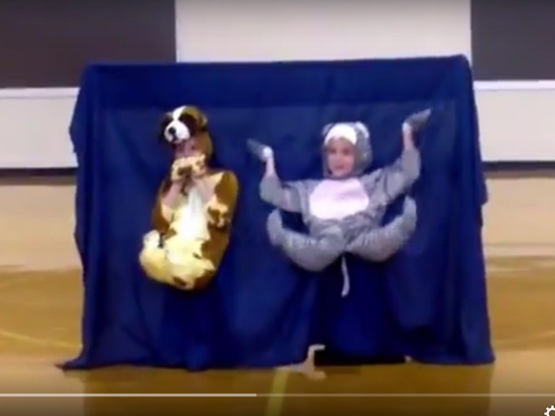 """""""Fountains"""" skit at talent show - YouTube 